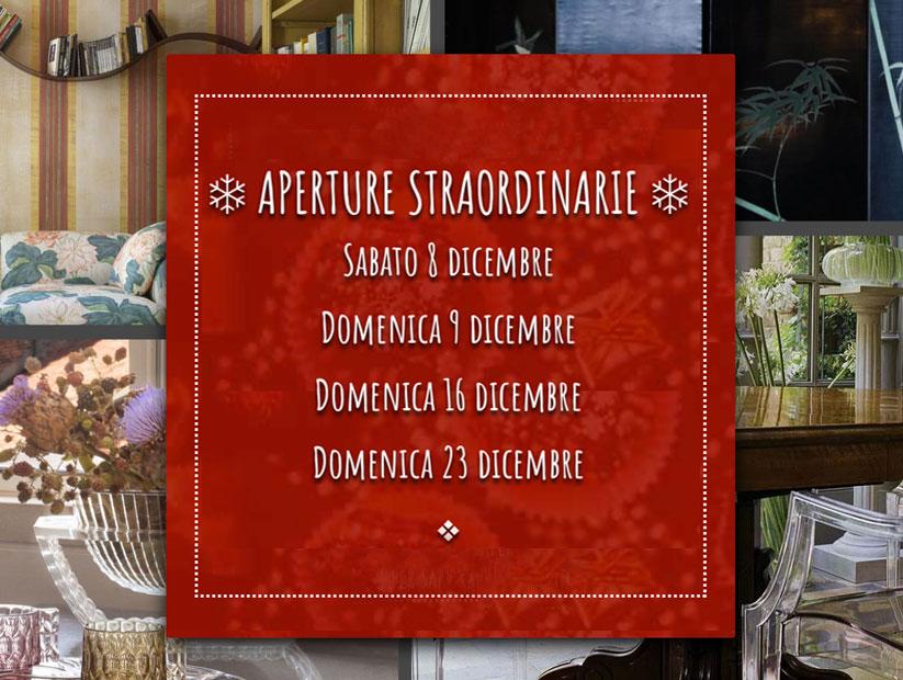 Kartell Firenze - Aperture straordinarie